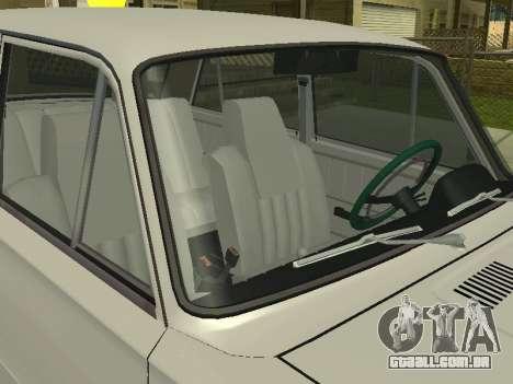 VAZ 21013 124RUSSIA 2 para GTA San Andreas traseira esquerda vista