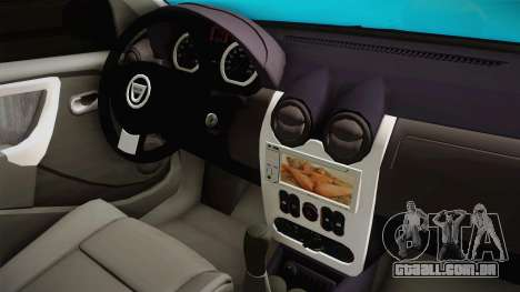 Dacia Logan Stance Haur Edition para vista lateral GTA San Andreas