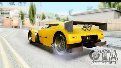 GTA 5 Annis RE-7B para GTA San Andreas traseira esquerda vista