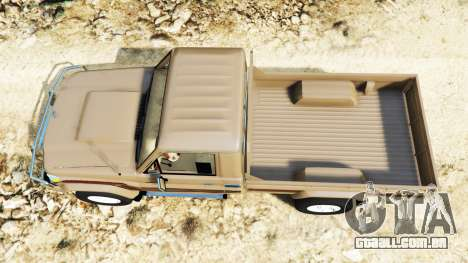 GTA 5 Toyota Land Cruiser (J79) 2016 voltar vista