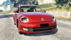 Volkswagen Beetle Turbo 2012 [replace] para GTA 5