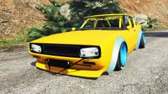Nissan Skyline GT-R C110 Liberty Walk [add-on] para GTA 5