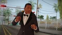 GTA 5 Franklin Tuxedo v2 para GTA San Andreas