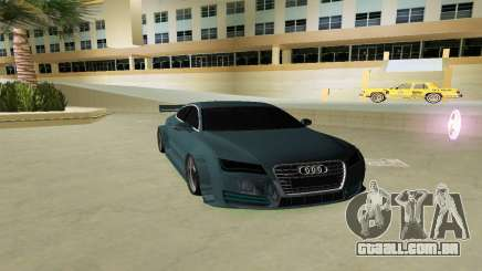 AUDI A7 SPORTS para GTA Vice City