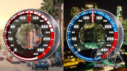 Velocímetro GTA SA Estilo V16x9 (widescreen) para GTA San Andreas