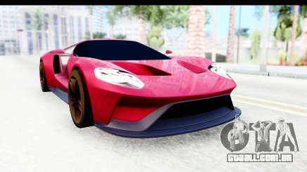 Ford GT 2016 para GTA San Andreas