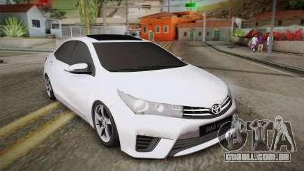 Toyota Corolla 2015 para GTA San Andreas
