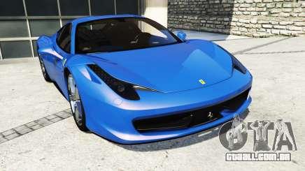 Ferrari 458 Italia v2.0 [replace] para GTA 5