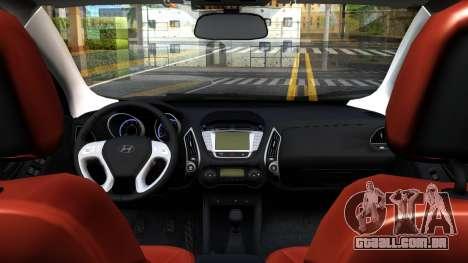 Hyundai ix35 Aze para GTA San Andreas vista traseira