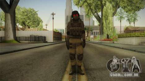 Resident Evil ORC - USS v3 para GTA San Andreas segunda tela