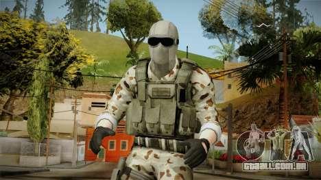 Resident Evil ORC Spec Ops v2 para GTA San Andreas