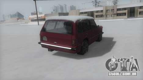 Huntley Winter IVF para GTA San Andreas esquerda vista