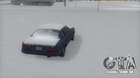 Cadrona Winter IVF para GTA San Andreas esquerda vista