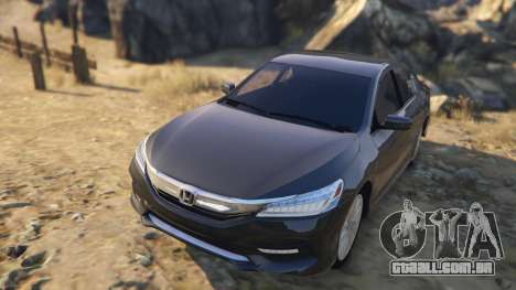 GTA 5 Honda Accord 2017 voltar vista