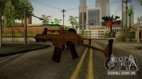 HK G36C v4 para GTA San Andreas terceira tela