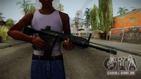 HK416 v1 para GTA San Andreas terceira tela
