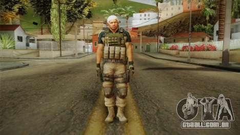 Resident Evil 6 - Chris Asia Bsaa para GTA San Andreas segunda tela