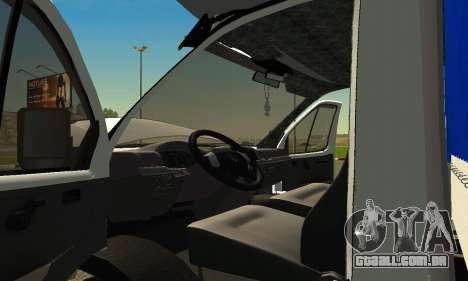 Gazela 3302 para GTA San Andreas vista direita