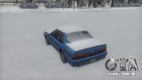 Previon Winter IVF para GTA San Andreas esquerda vista