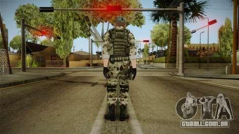Resident Evil ORC Spec Ops v4 para GTA San Andreas terceira tela