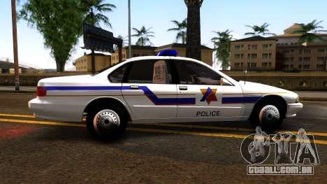 Chevy Caprice Hometown Police 1996 para GTA San Andreas