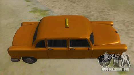 VC Cabbie Xbox para GTA San Andreas vista interior