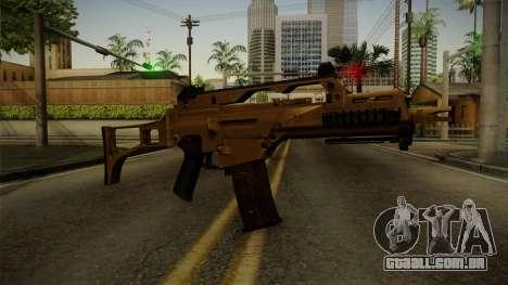 HK G36C v4 para GTA San Andreas segunda tela