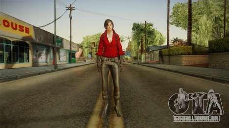 Resident Evil 6 - Ada para GTA San Andreas segunda tela