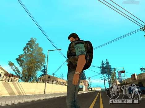 Tommy Vercetti Stalker para GTA San Andreas quinto tela