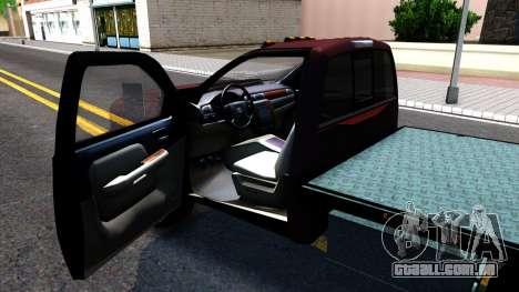 Chevrolet HD 3500 2013 para GTA San Andreas vista traseira