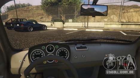 GTA 5 Fiat Abarth 595ss Racing ver vista lateral direita