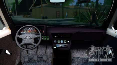 Lada Niva 4x4 Off Road para GTA San Andreas vista traseira