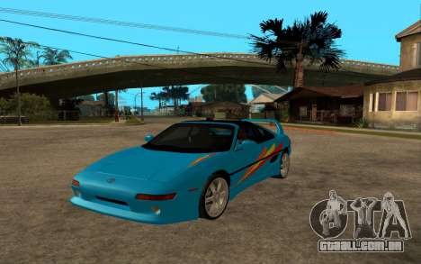 Toyota MR2 GT para vista lateral GTA San Andreas
