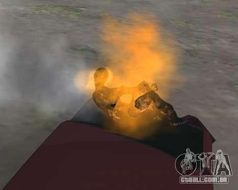 Para transportar o cadáver de 2016 para GTA San Andreas segunda tela