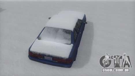 Cadrona Winter IVF para GTA San Andreas vista direita