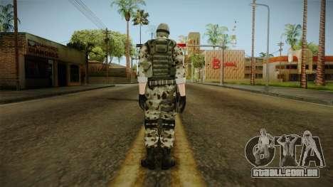 Resident Evil ORC Spec Ops v2 para GTA San Andreas terceira tela