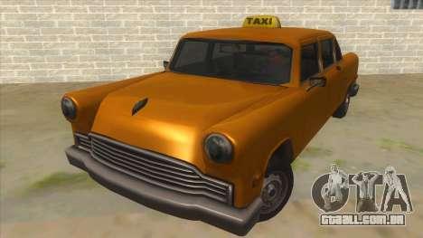 VC Cabbie Xbox para GTA San Andreas