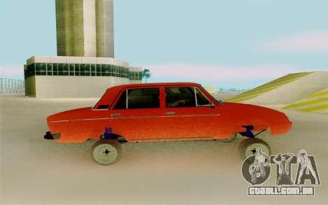 Phoenix ВАЗ 2106 para GTA San Andreas esquerda vista
