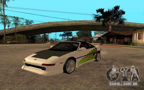 Toyota MR2 GT para GTA San Andreas vista traseira