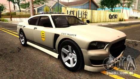 Bravado Buffalo 2012 Iowa State Patrol para GTA San Andreas