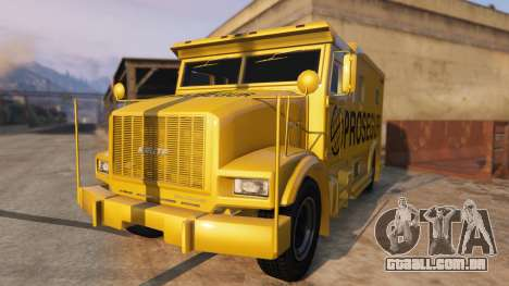 Carro Forte Prosegur Brasil para GTA 5