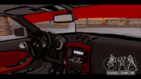 Nissan 370z Drift Edition para GTA San Andreas vista direita