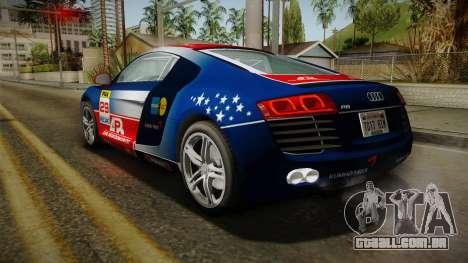 Audi R8 Coupe 4.2 FSI quattro EU-Spec 2008 YCH para GTA San Andreas
