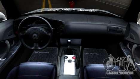 Honda S2000 para GTA San Andreas vista interior