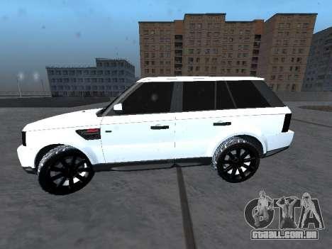 Range Rover Sport para GTA San Andreas esquerda vista