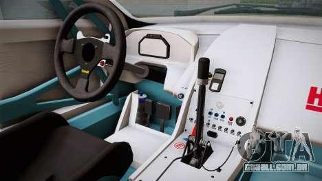 Aston Martin Racing DBRS9 GT3 2006 v1.0.6 YCH para GTA San Andreas vista interior