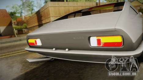 Maserati Ghibli v0.1 (Beta) para GTA San Andreas traseira esquerda vista