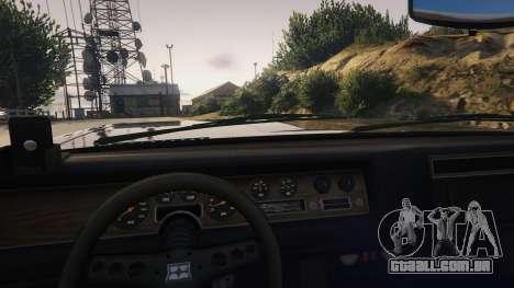 GTA 5 TLAD Regina Sedan vista lateral direita