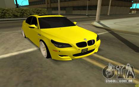 BMW 5 Series E60 para GTA San Andreas