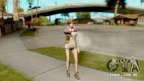 Resident Evil Revelations 2 - Moira Burton para GTA San Andreas terceira tela